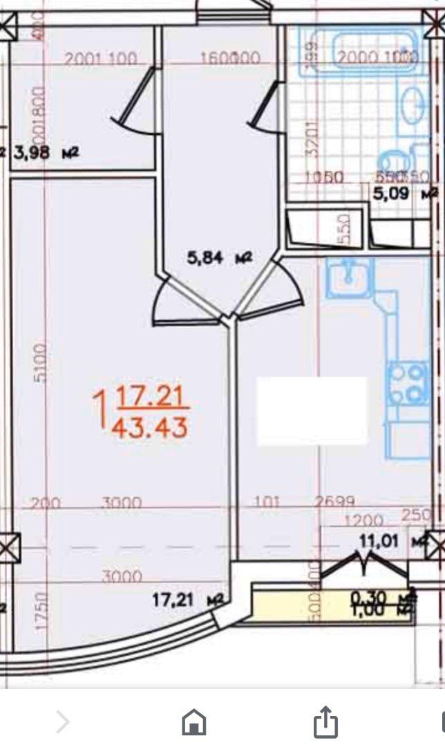 продажа однокомнатной квартиры номер A-153668 в Киевском районе, фото номер 17